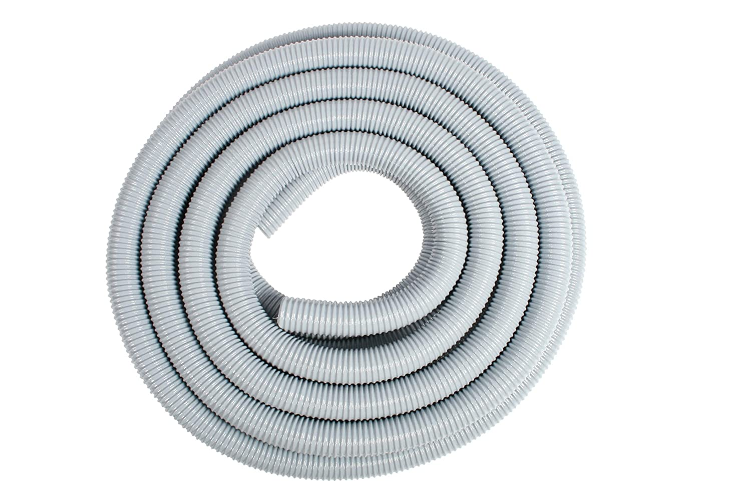 "Cen-Tec Systems 65511 2"" X 50 Foot General Purpose Wire Support Hose with Nylon Reinforcement Web, Light Gray"