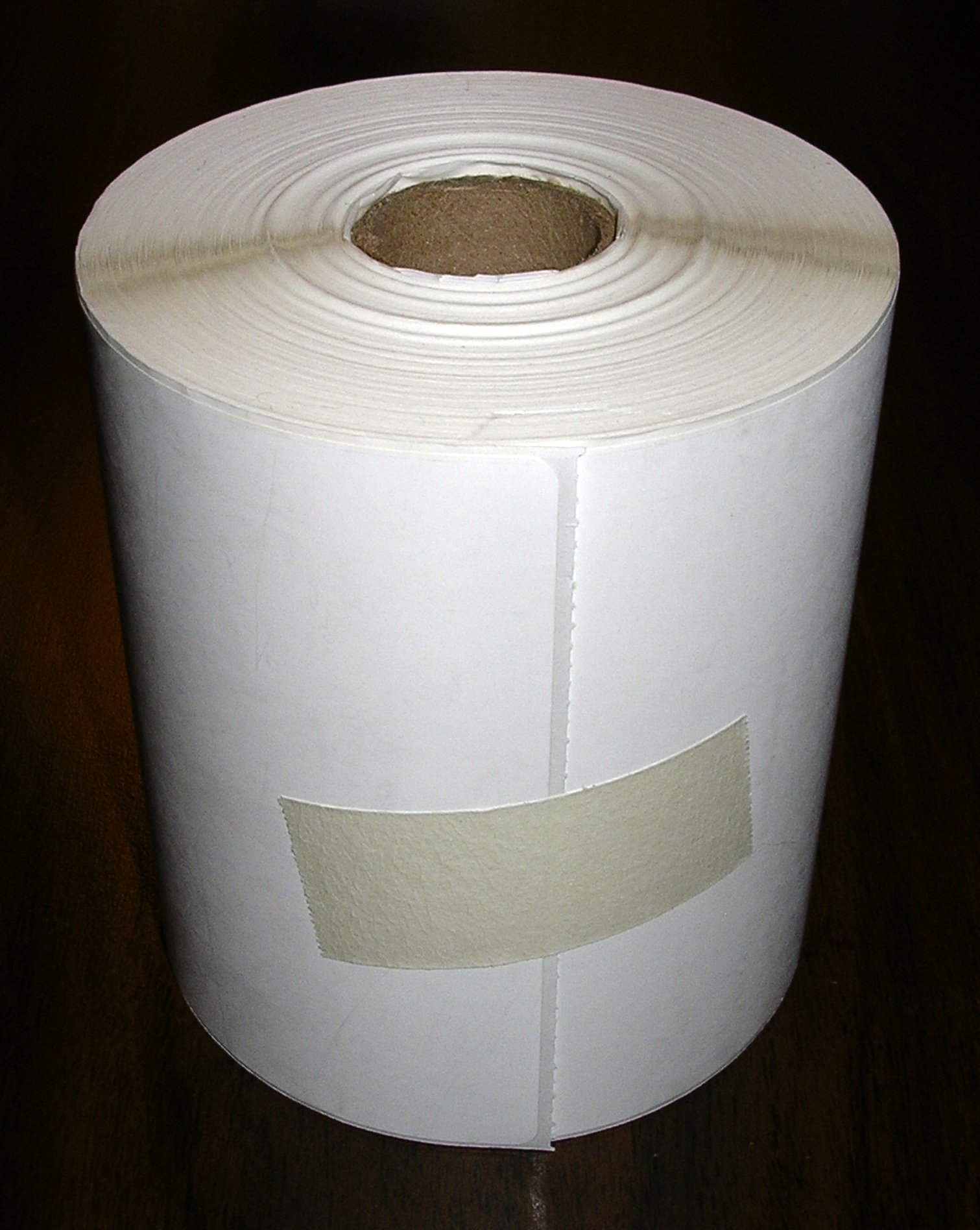 1 Roll of 250 Direct Thermal Labels, 4 x 6, for Zebra, Eltron, and Samsung Printers