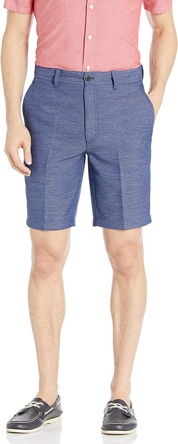 Cubavera Men's Textured Stretch Short