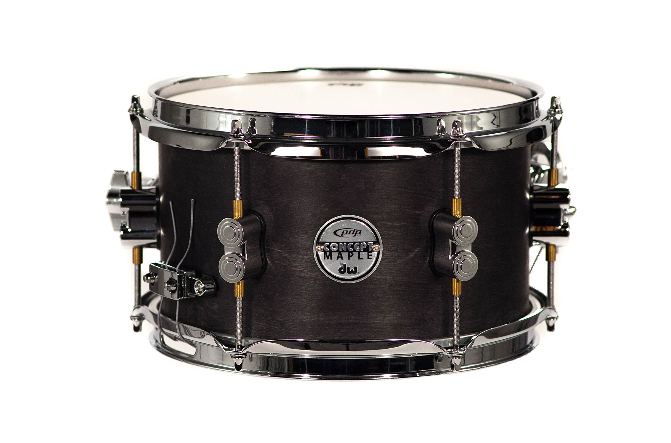 PDP By DW Black Wax Maple Snare Drum 6x10