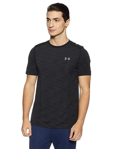 3160e658 Under Armour Men's Threadborne Seamless T-Shirt, Black /Graphite, XXX-Large