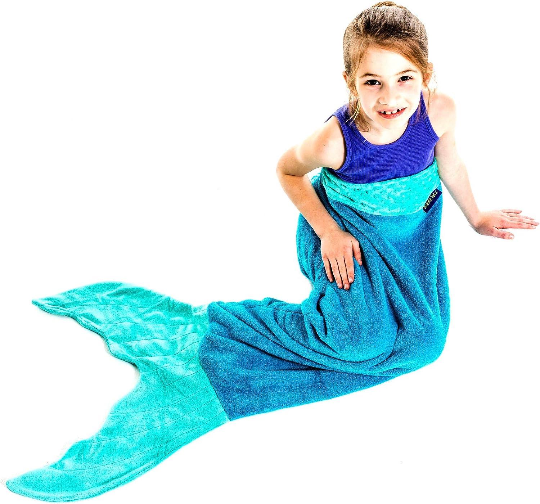 Amazon Com The Original Blankie Tails Mermaid Tail Blanket Youth
