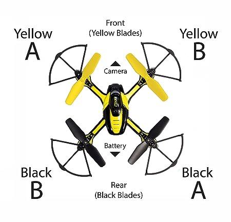 Amazon Com Tenergy Tdr Phoenix Mini Replacement Blades 2 X Yellow