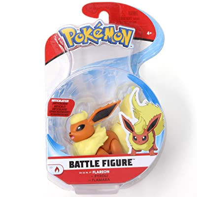 Pokémon Battle Figure Flareon 3 Inch Series 3 Single Pack: Toys & Games