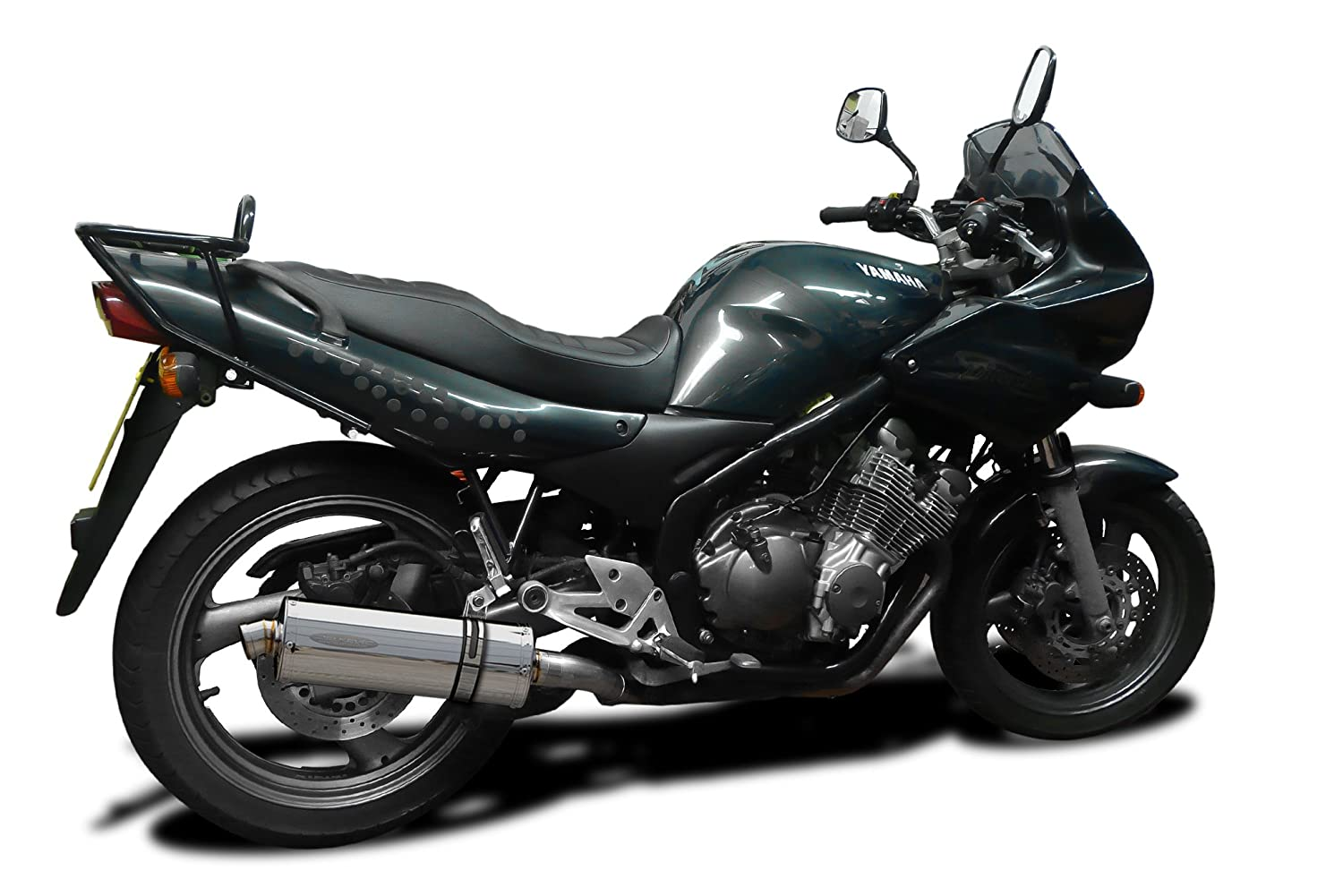 Meget Delkevic Yamaha XJ600 Diversion Full Stainless Exhaust System With  CX37