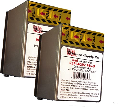 765-9 Compatible 2-Pack for DM300c, DM400c, DM450c Postage Meters