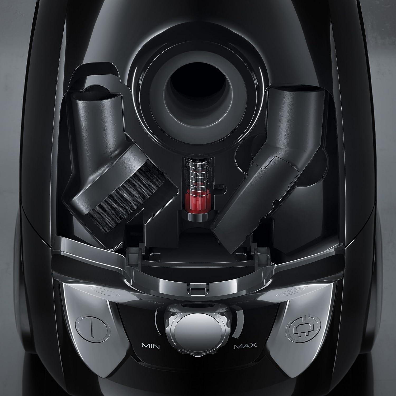 Aspiradora 750 W, 28 kWh, Aspiradora cil/índrica, Bolsa para el polvo, 3 L, Negro Electrolux EEG42EB