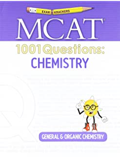 Examkrackers 1001 Questions in MCAT Chemistry: Scott Calvin