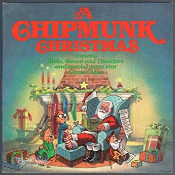 a chipmunk christmas vinyl lp - Alvin And The Chipmunks Christmas