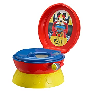 Amazon.com  The First Years Disney Baby Mickey Mouse 3-in-1 Potty System Graphics May Vary  Toilet Training Seats  Baby  sc 1 st  Amazon.com & Amazon.com : The First Years Disney Baby Mickey Mouse 3-in-1 Potty ...
