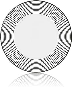 Mikasa Cheers Rings Salad Plate, 8.5-Inch
