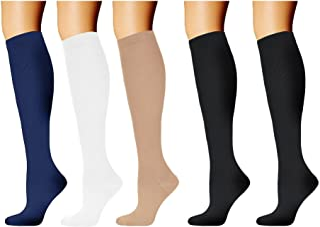 HARAVAL Sports Compression Socks for Women Men 20-30 mmHg, Running Socks, Best Graduated Stockings for Athletic