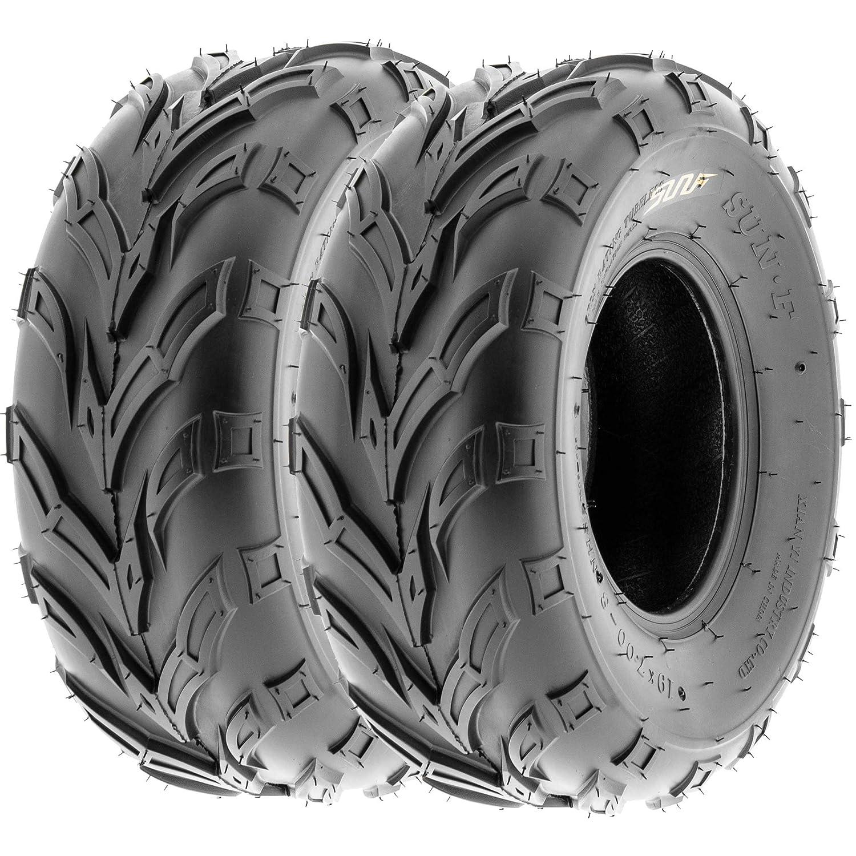 SunF 16x6-8 16x6x8 ATV UTV A/T Sport Trail Replacement 6 PR Tubeless Tires A004, [Set of 2] LCF1|A004|160608||x2