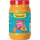 Feasters Peanut Butter Crunchy Jar, 1kg