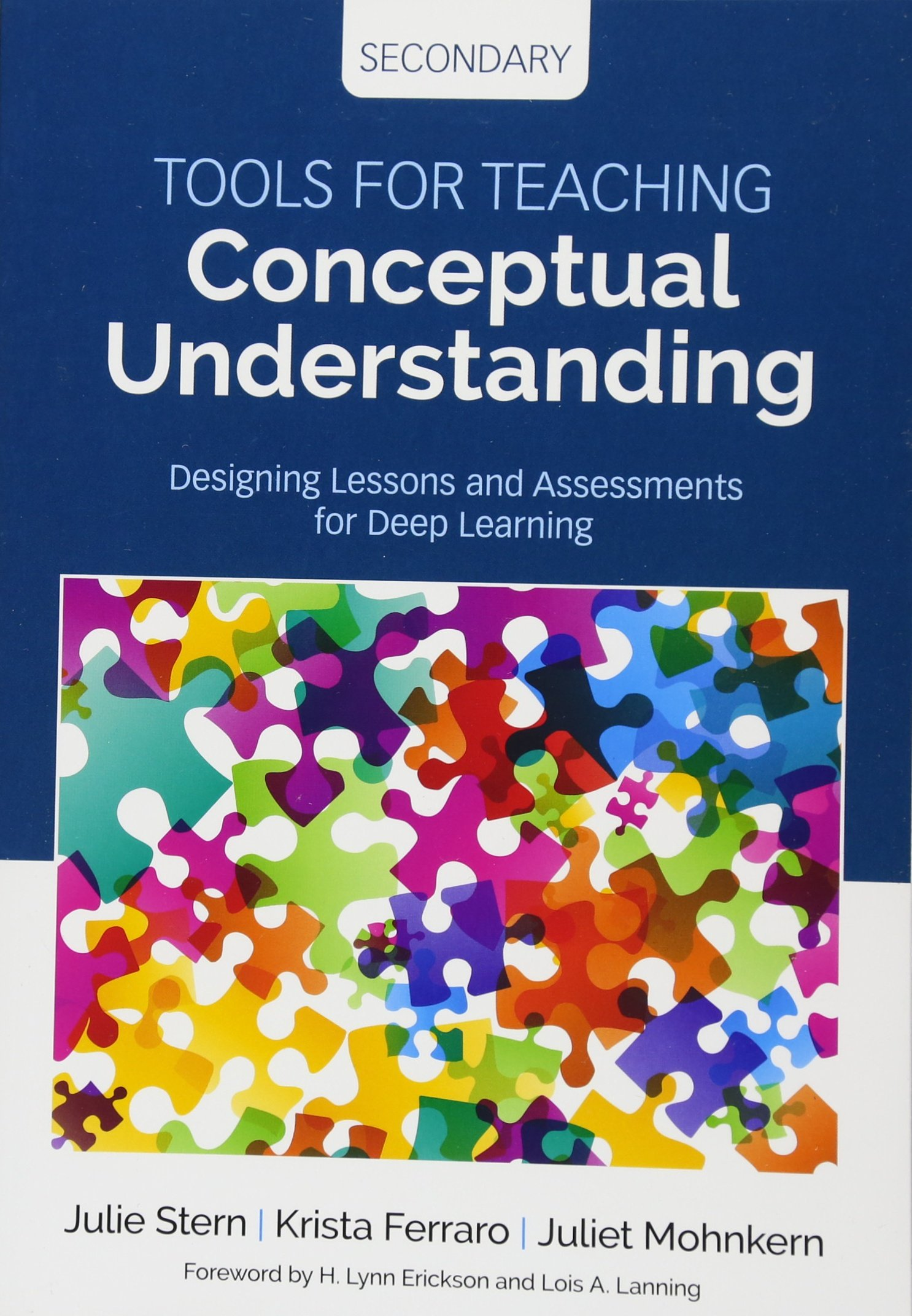Tools for Teaching Conceptual Understanding, Secondary ...