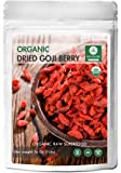 Organic Goji Berries Dried (1lbs) by Naturevibe Botanicals, Gluten-Free & Non-GMO (16 ounces)