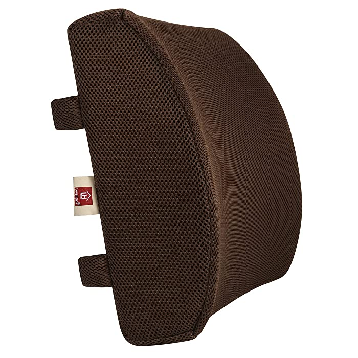 Top 8 Lumbar Support For Office Chair Browm