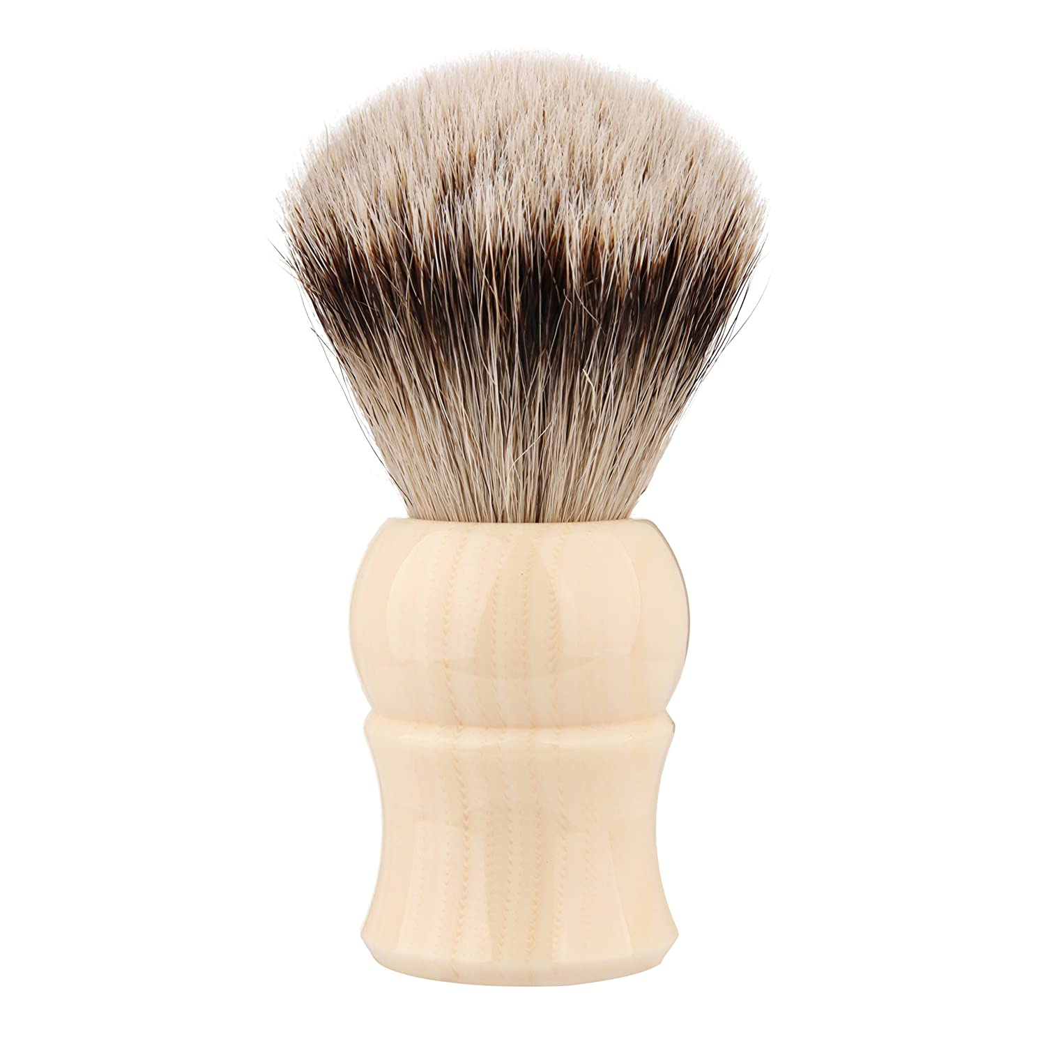 CYH Silvertip Badger Shaving brush, 100% Top Quality Silvertip Badger Hair with Imported Resin Handle Luxury Facial Care Tools for Safety Razor, Double Edge Razor, Shaving Razor