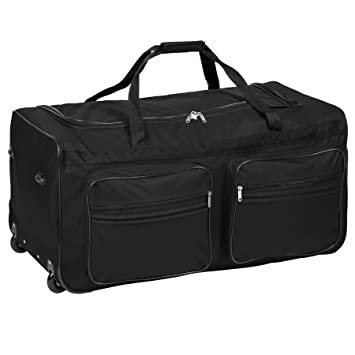 TecTake XXL EXTRA LARGE TRAVEL TROLLEY BAG HOLDALL  a19325bd3ac5e