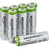 AmazonBasics 亚马逊倍思 AA 型(5号) 镍氢预充电 可充电电池 (8节,2000mAh)(新旧款颜色随机发货)
