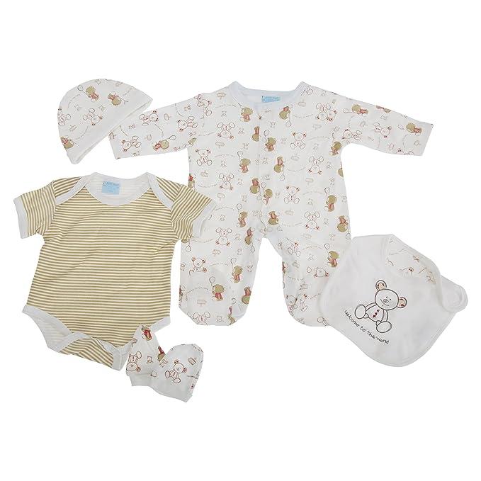 Set de regalo de 5 piezas para recién nacido, Diseño Osito de ...