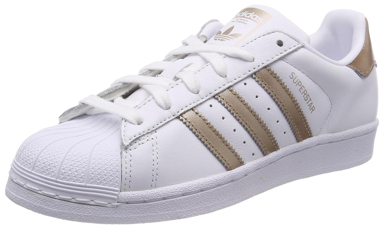 Adidas Superstar, Zapatillas para Mujer 38 EU|Blanco (Footwear White/Cyber Metallic/Footwear White 0)