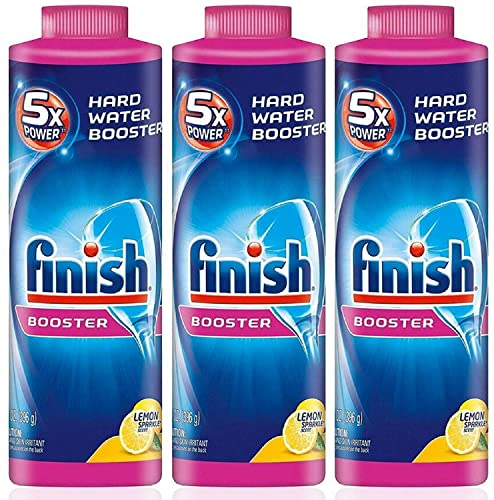 Finish Power Up Rinse Aid Dishwasher Booster Agent