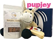 PupJoy Dog Day Box - Artisan Dog Goodie Subscription Box: Medium Dog