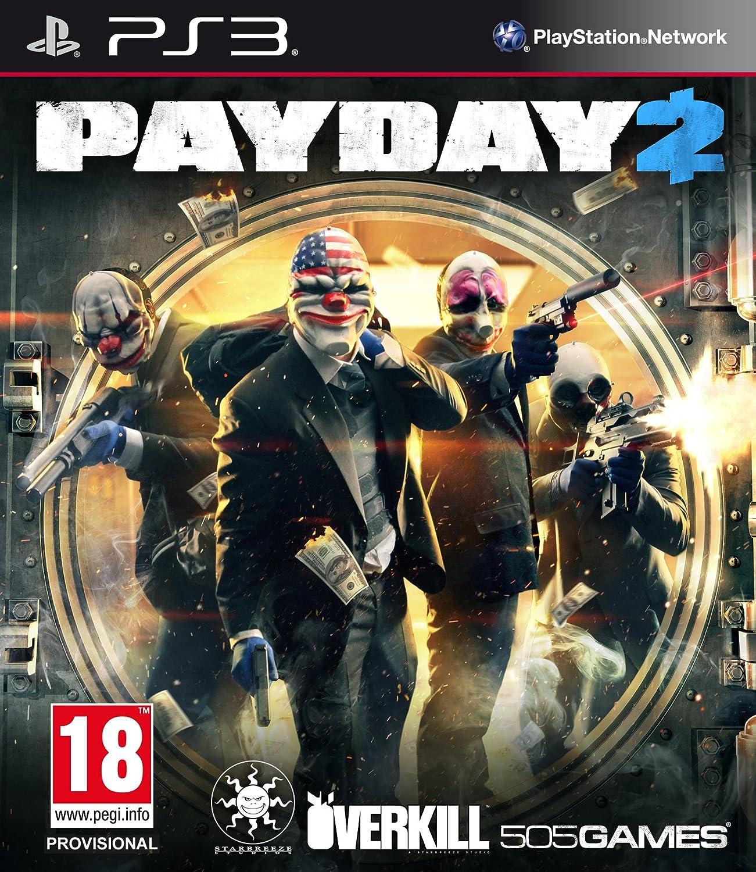 Kết quả hình ảnh cho Payday 2 cover ps3