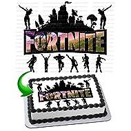 INKUTEN Royale Battle Edible Cake Image Cake Topper Icing Sugar Paper A4 Sheet Edible Frosting Photo 1/4 Sheet Cake