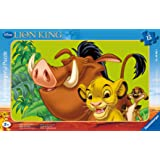 Ravensburger Puzzle-06008-Children With The Lion King-Simba The Lion-15Pieces