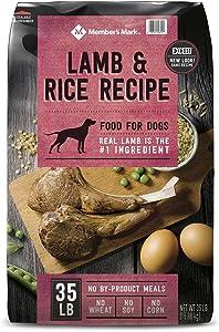 Member's Mark Exceed Dry Dog Food, Lamb & Rice (35 lbs.)