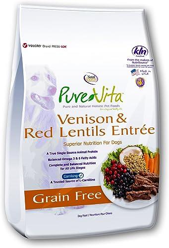 Purevita Grain Free Venison Dog Food 5Lb