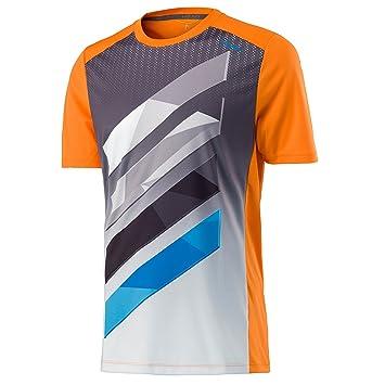 Head Camiseta de Rayas, ntilde;o, Niños, Color Naranja, tamaño L