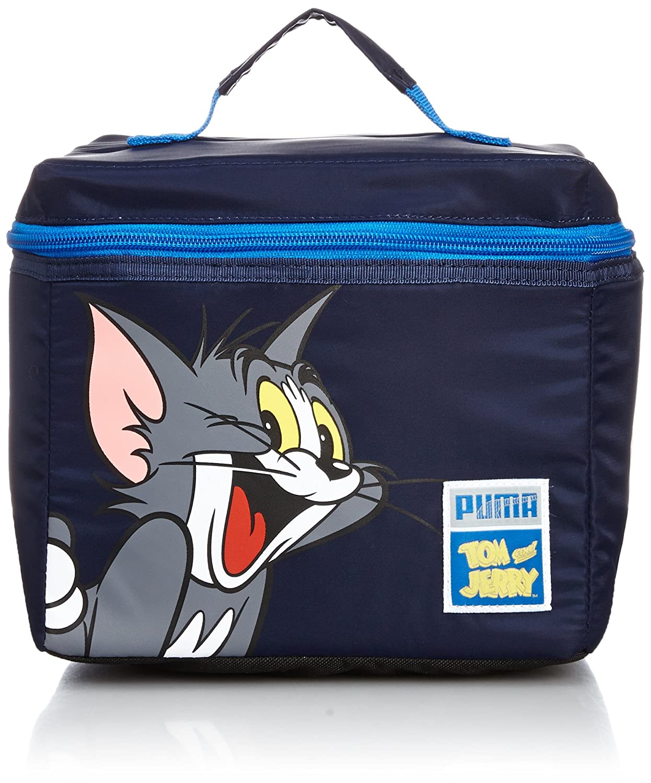 Puma Tom & Jerry Small Bag - Mochila infantil, color azul (Peacoat ...