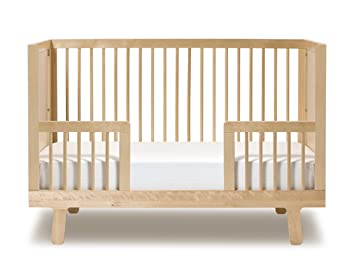 on sale f87a4 ca099 Oeuf Sparrow Toddler Bed Conversion Kit, Birch