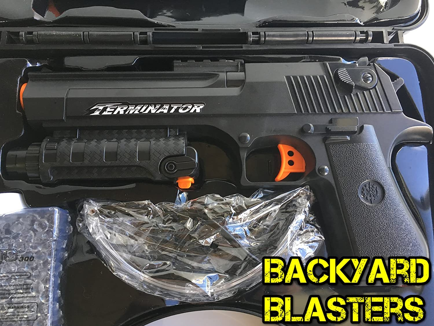 amazon com backyard blasters desert eagle hydro blaster kit gel
