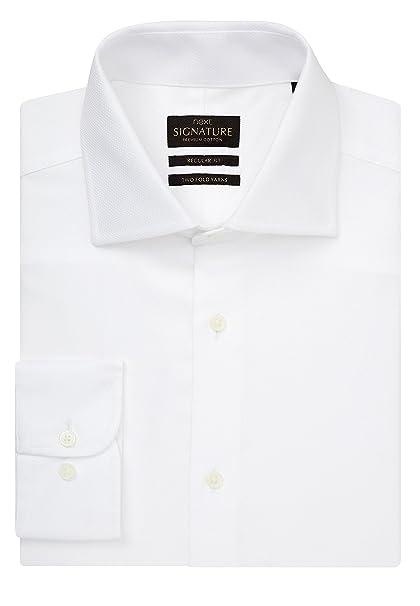 Next Signature Camicia Di Uomo Vestibilità Prima Regular Qualità XukZTwOPi