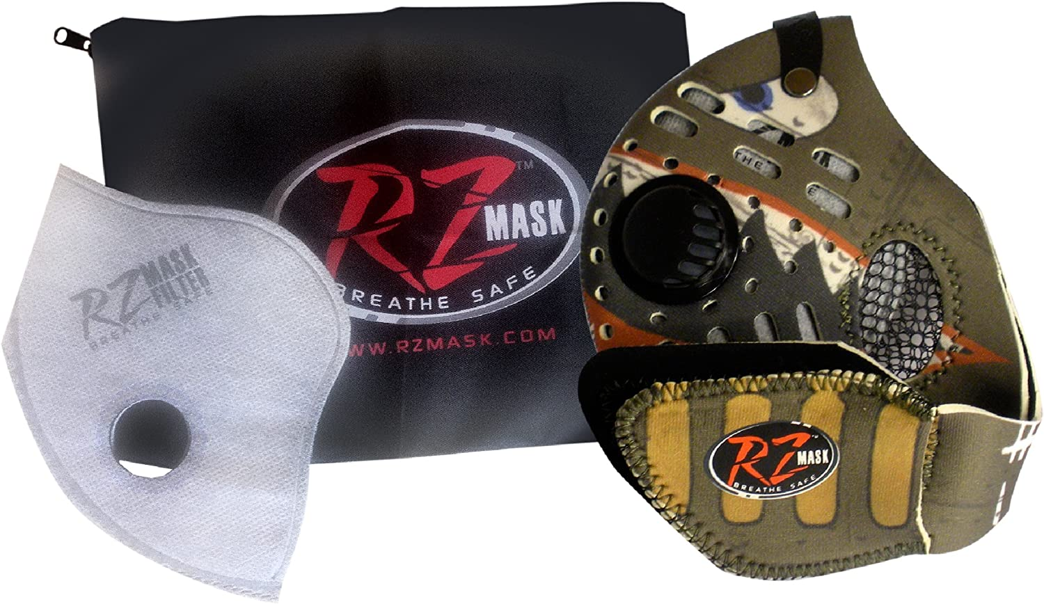 Large RZ Mask Breathe Safe Facemask Spitfire