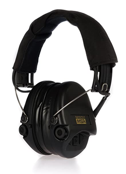 Msa Sordin Supreme Pro X Premium Edition Electronic Ear With Black Headband