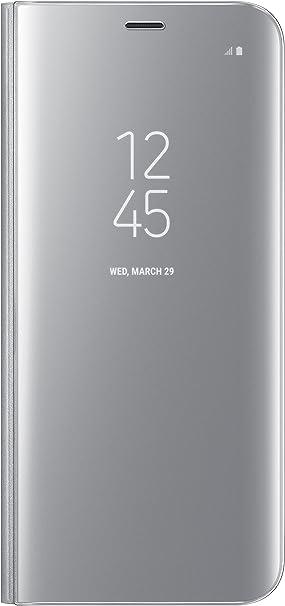 Samsung Clear View Cover, Funda para smartphone Samsung Galaxy S8, Monótono: Amazon.es: Electrónica