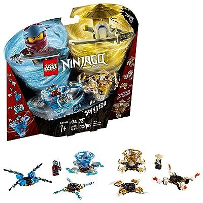 LEGO NINJAGO Spinjitzu Nya & Wu 70663 Building Kit (227 Pieces): Toys & Games