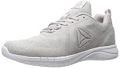 Reebok Women's Print 2.0 CR Running Shoe, CR-Lilac Ash/Whisper Grey/