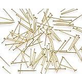 Darice Bulk Buy DIY Sequin Pins #8 Gold 1/2