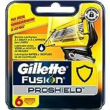 Gillette Fusion ProShield - Cuchillas de recambio para maquinilla de afeitar (6 recambios)