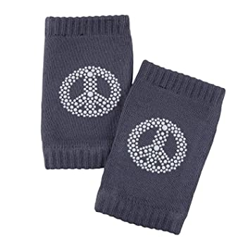 Catch Me If You Can One Size Fits Most Stephan Baby Non-Slip Cotton Knit Blend Knee Pads