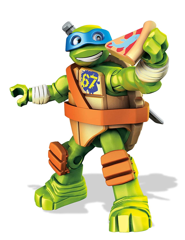 Mattel Mega Bloks - Figuras de Las Tortugas Ninja con ...