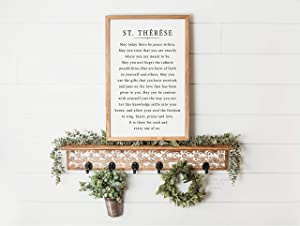 St. Therese of Lisieux Quote Framed Sign