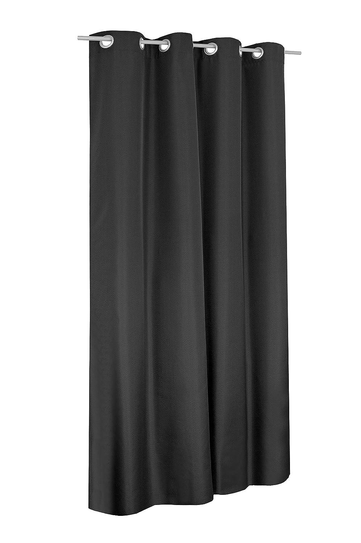 Schlaufen oder Ösenschal Ösenschal Ösenschal - Vorhang-Gardine Maßanfertigung im Unidesign Weiss 120cm x 320cm Schlaufenschal , Farbe und Größe wählbar B01N95RBGO Gardinenschals 84673c