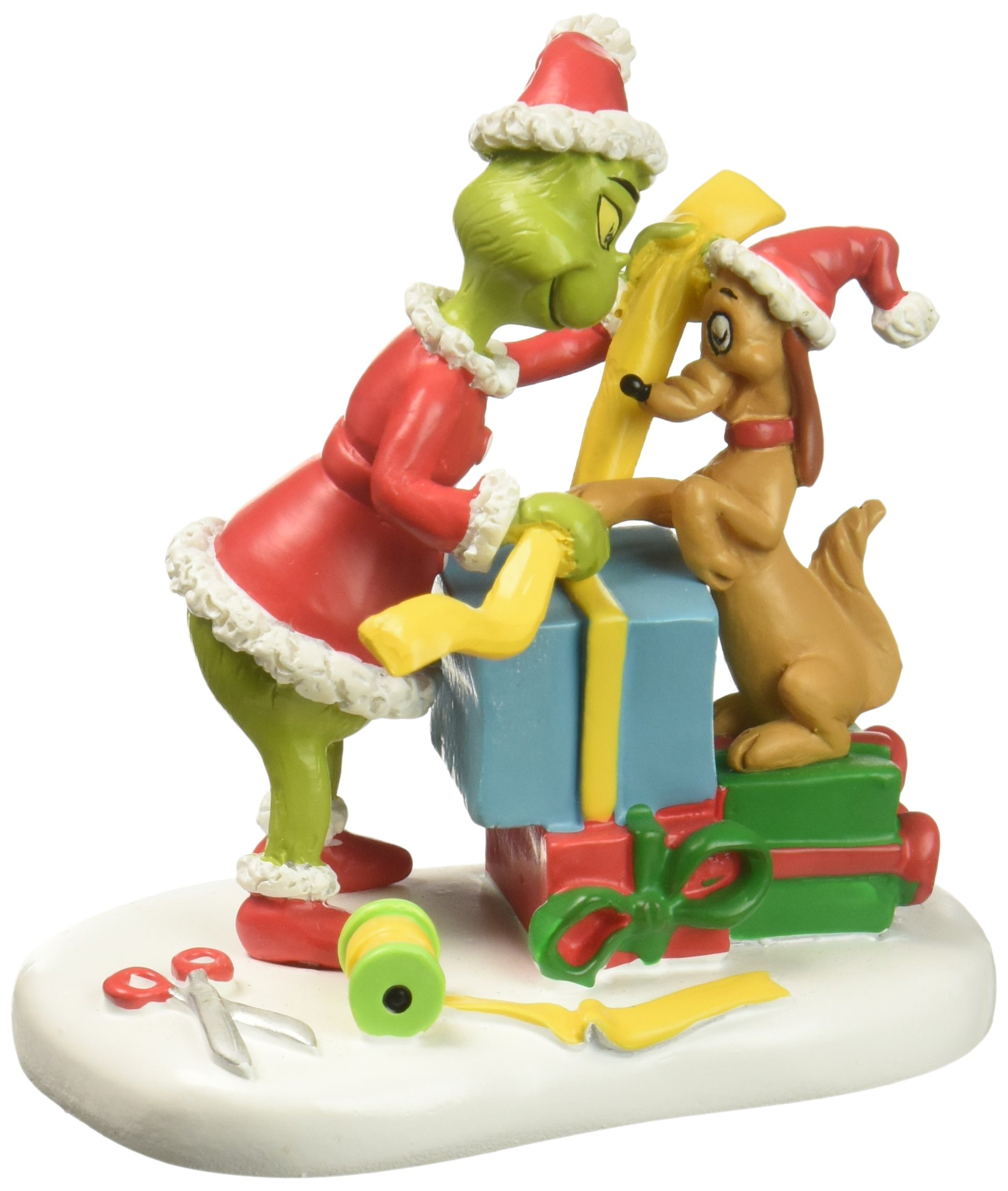 Department 56 Grinch Villages Max Lending A Helping Paw Village Accessory Figurine